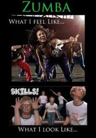 Funny Zumba Memes - what i feel like doing zumba what i really look like funny