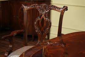 High End Dining Table Federal Style Foot Mahogany Dining Tab - Chippendale dining room furniture