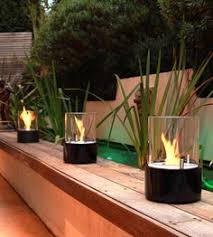 Ethanol Fire Pit by Ecosmart Fire Mix 850 Bio Ethanol Fire Bowl Natural Concrete