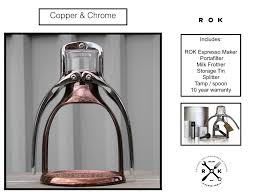 espresso maker rok shop products accessories and photo gallery for the rok