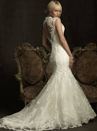 lace open back mermaid wedding dresses pictures ideas guide to