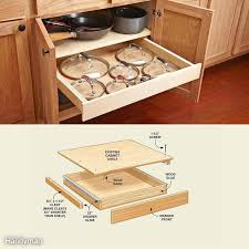 kitchen cupboard with drawers 30 cheap kitchen cabinet add ons you can diy family handyman