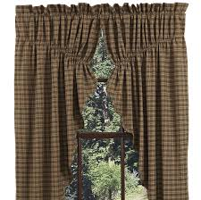 Lined Swag Curtains Country Prairie Gathered Swags Barrington Lined Curtains
