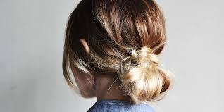 hair bun how to diy low hair bun this fashion is mine