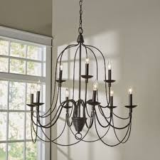 Metal Chandelier Frame Chandeliers Wayfair