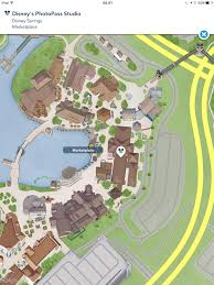 Disney Springs Map Photo Pass Studio At Disney Springs The Dis Disney Discussion