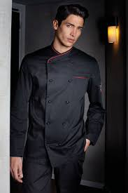 veste de cuisine homme noir veste cuisine oscar homme et noir homme professionnelles