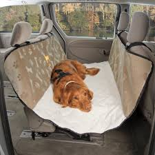 pet travel and outdoors deluxe quilted rear seat hammock