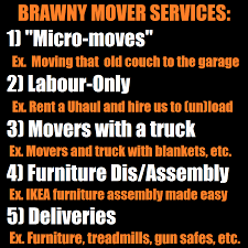 services brawny movers