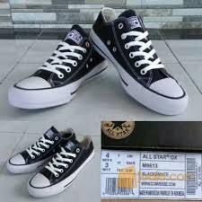 Sepatu Converse Black sepatu converse black grade jakarta timur jualo