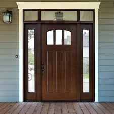 Colors For Front Doors Front Doors Alluring Wooden Front Doors With Glass For Luxurious
