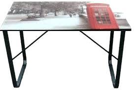 plateau bureau verre ikea table plateau en verre platine de fixation pour plateau en verre