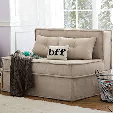 Sleeper Chairs And Sofas Cushy Sleeper Sofa 47 25 Pbteen