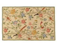 tappeto aubusson tappeto aubusson in a mezzo punto flowers 76x122 cm