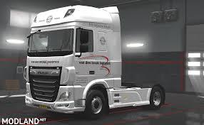 truck van van den broek logistics truck mod for ets 2