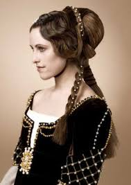 Frisuren Renaissance Anleitung by Hair Styles Moda Romántica 1830s Front View Historic Hair
