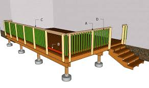 Deck Handrail How To Build A Deck Handrail Howsto Co
