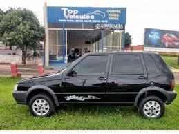 Extreme Fiat Uno Way em Mato Grosso - fiat uno way preto mato grosso usado  #YJ95