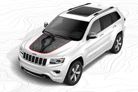 jeep grand cherokee stickers jeep performance parts marks the spot with new custom hood decals