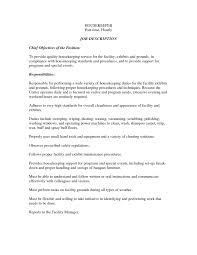 domestic housekeeper cover letter hotel maid resume sample com0000