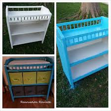 Blue Changing Table S Changing Table Renovationroulette
