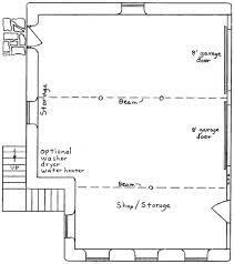 garage floor plans garage apartment building