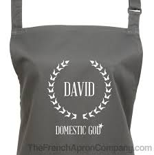 Personalized Mens Aprons Shop For Gift Ideas For Dad At The French Apron Company All Day
