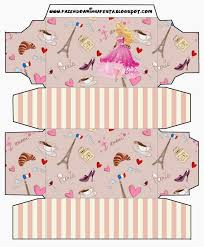 barbie magic fashion free printable boxes