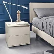 sangiacomo vela lacquered nightstand contemporary bedroom