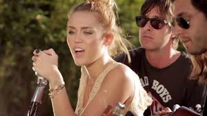 miley cyrus the backyard sessions look what they ve done to my
