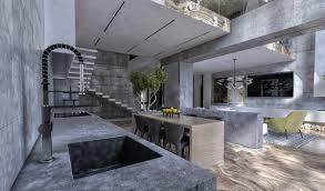 Concrete Kitchen Design 40 Gorgeous Grey Kitchens