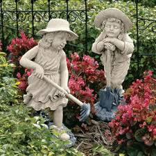 shop garden statues at lowes