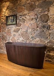 vasche da bagno legno khis bath tub la vasca da bagno in legno di ispirazione zen