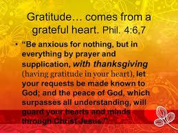 gratitude the right attitude ppt