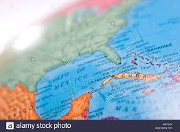 Merida Mexico Map by World Map Globe With Focus On Cuba And Gulf Of Mexico With Shallow