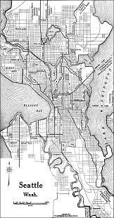 Maps Seattle Wa by Washington City Maps At Americanroads Com