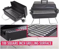 Backyard Gas Grill by Portable Tabletop Gas Grill Bbq Camping Propane Barbecue Backyard