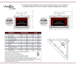 the viewpoint series vp 36t dv gas fireplace stellar hearth products