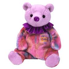 beanie babies birthday bear ty beanie baby retired