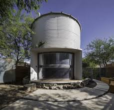 Silo House See Inside This Tiny Home That U0027s Made Out Of A Grain Silo Today Com