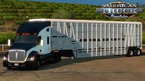 kenworth t680 parts list american truck simulator kenworth t680 wilson livestock trailer