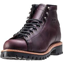 mens brown motorcycle boots chippewa 5 inch lace to toe field mens brown leather casual boots