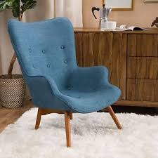 Retro Accent Chair Acantha Mid Century Modern Retro Contour Accent Chair Ebay