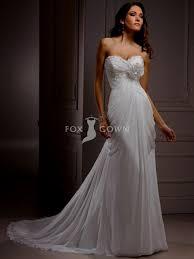 Chiffon Wedding Dresses Sweetheart Strapless Wedding Dress Chiffon Naf Dresses