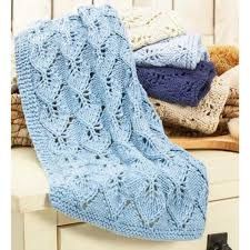 Powder Room Towels Leafy Hand Towels Set Knit Pattern