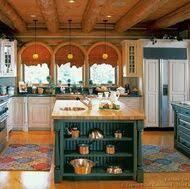 Log Cabin Kitchen Cabinets by 35 Best Log Homes Images On Pinterest Dream Kitchens Log Home