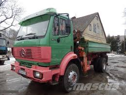 mercedes 4x4 trucks used mercedes 1824 ak 4x4 hds atlas dump trucks year 1995