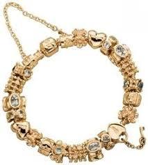 bracelet pandora gold images Gold pandora bracelet jpg