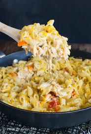 easy pasta recipes cheesy chicken pasta inside brucrew life