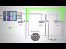plc training star delta starter plc program and wiring part 6